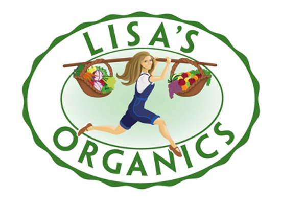 Lisa's Organics logo